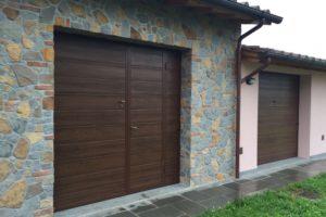 porte basculanti in legno